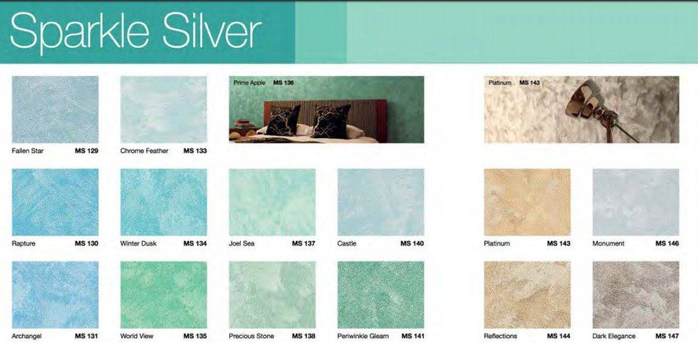 Sparkle Silver Reflection