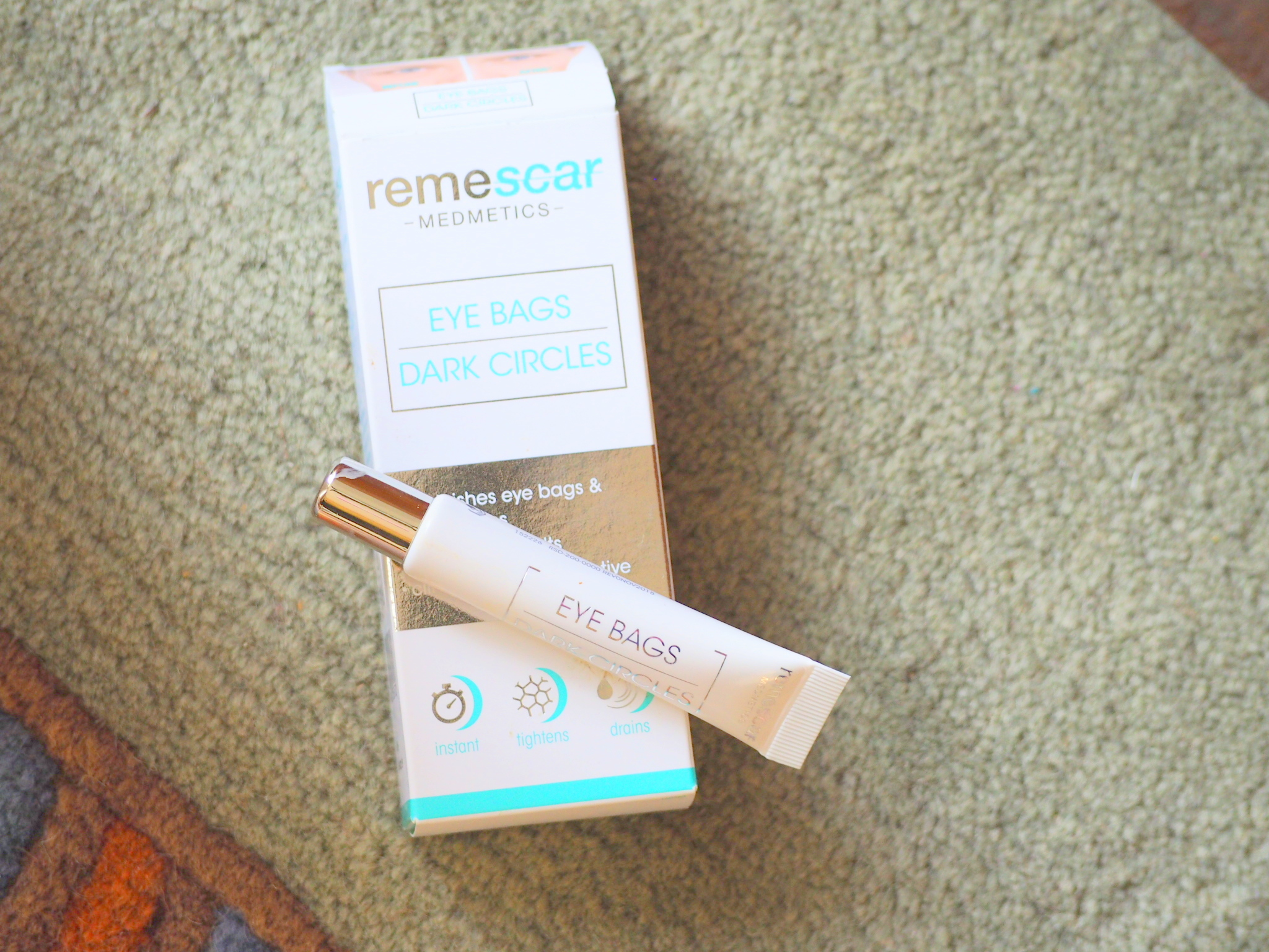 {Review & Giveaway}-Remescar Eye Bags & Dark Circles cream!