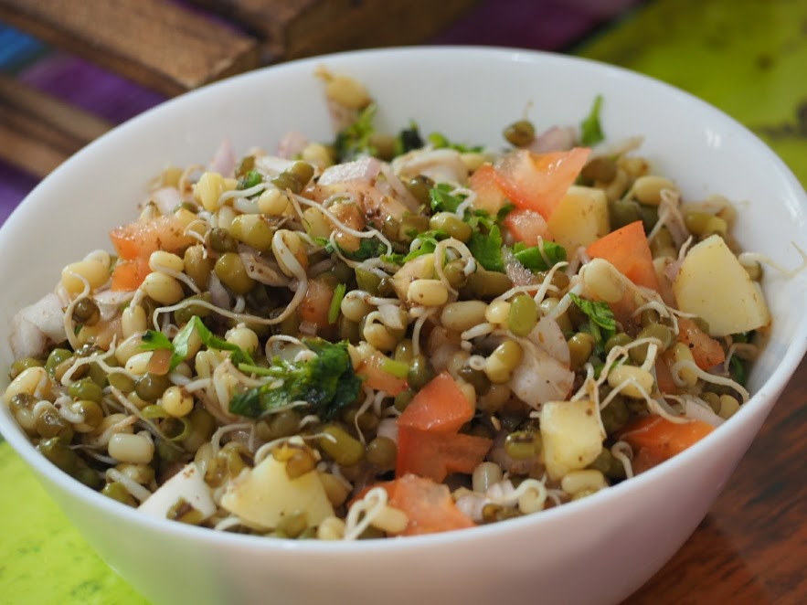Sprouted lentil salad mums and babies singapore parenting sprouted moong dal forumfinder Choice Image