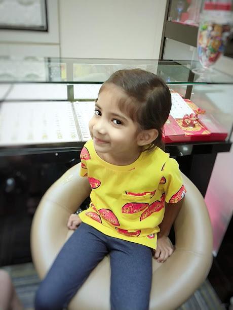 kaira ear piercing