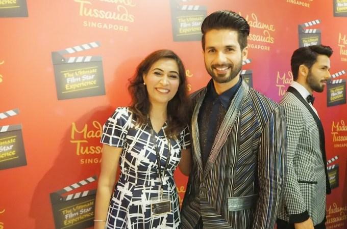 Shahid Kapoor Madame Tussauds