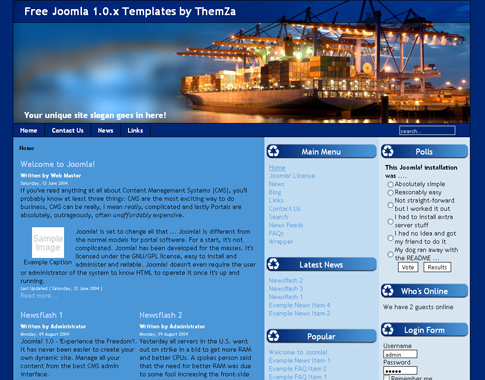 company profile template free download