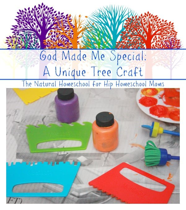 God Made Me Special Crafts {Free Printable} - The Natural Homeschool