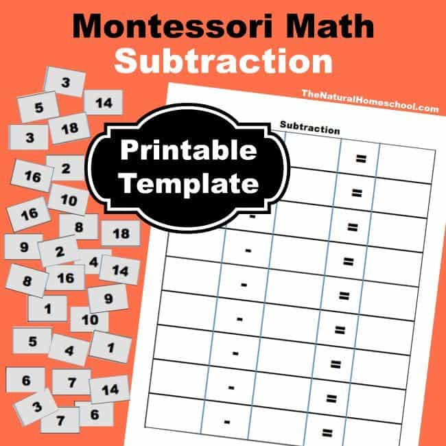 Montessori-Inspired Skip Counting for Kids {1s, 2s, 3s Printables - homeschool report card template