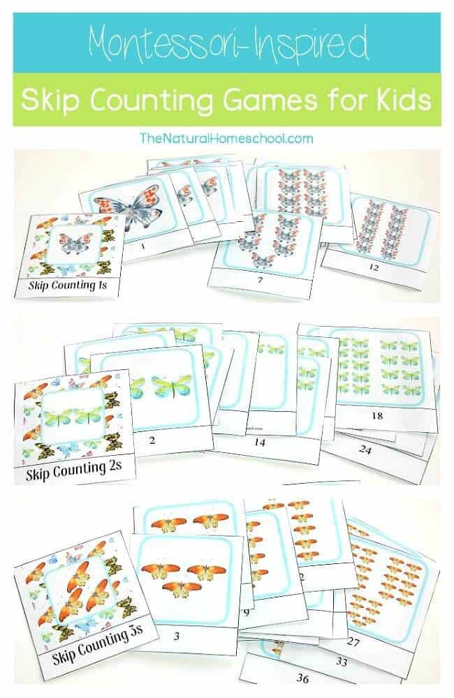 Montessori-Inspired Skip Counting for Kids {1s, 2s, 3s Printables - test report template