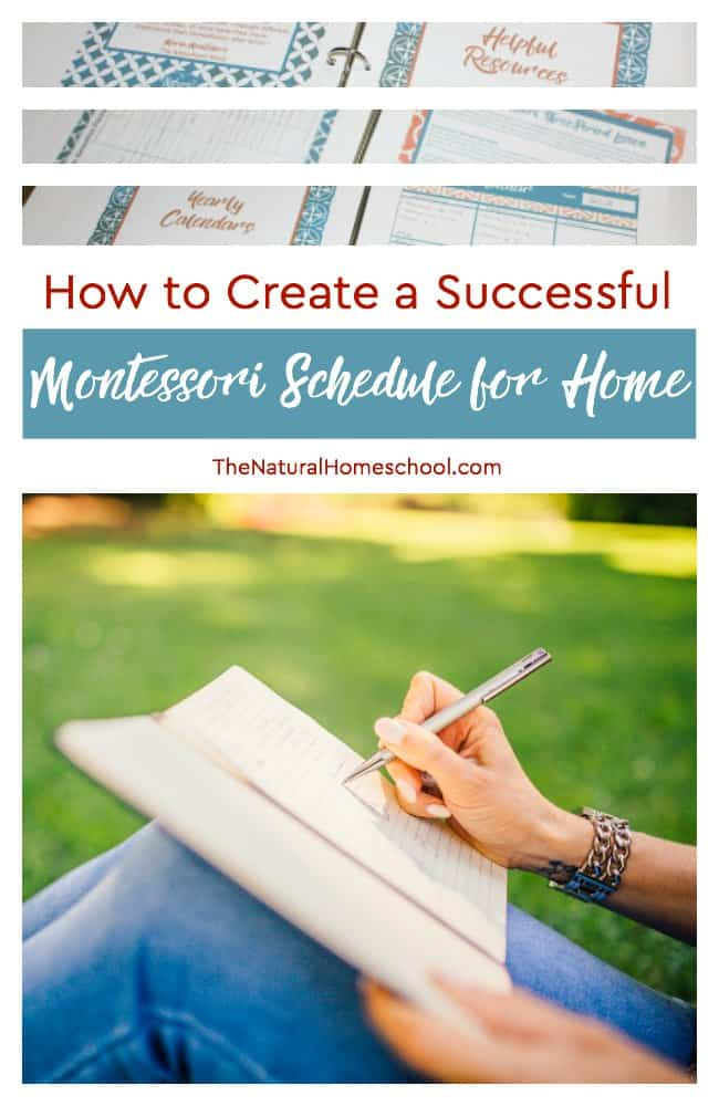 How to Create a Successful Montessori Schedule for Home PART 1 - The