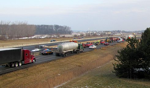 Interstate 75 Widening in Wood County