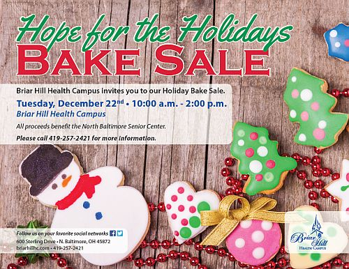 Hope for the Holidays Bake Sale \u2013 TheNBXpress