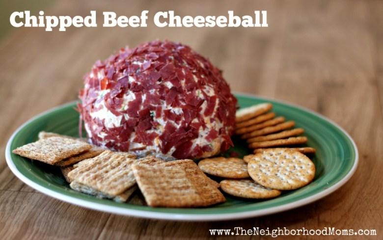 Paleo Dried Beef Cheese Ball