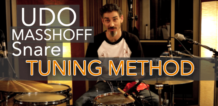 Tuning Drums – Tune The Best Snare Drum With the Udo Masshoff Method