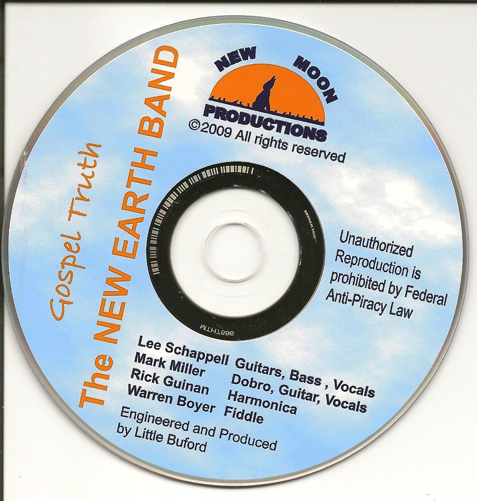 Gospel Truth on-disc graphics