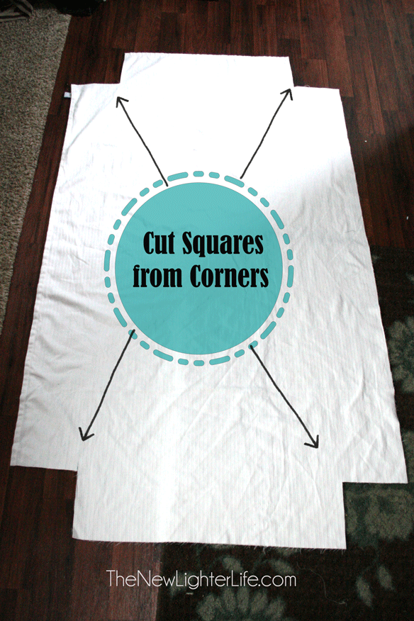 How To Make Fitted Sheets From A Flat The New Lighter Life