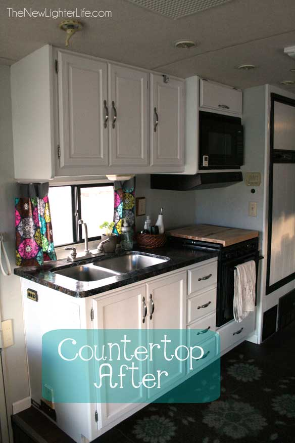After We Did The Transformation Of The Cabinets With Nuvo S Cabinet