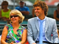 Guga Kuerten and Mom Hall of Fame