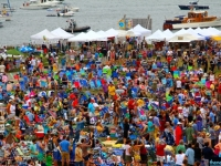 Newport Folk Fest View From Above