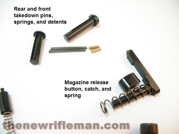 Pivot Pins and Magazine release