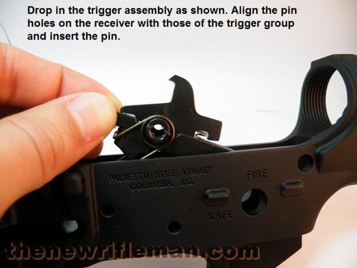 ar15 trigger installation