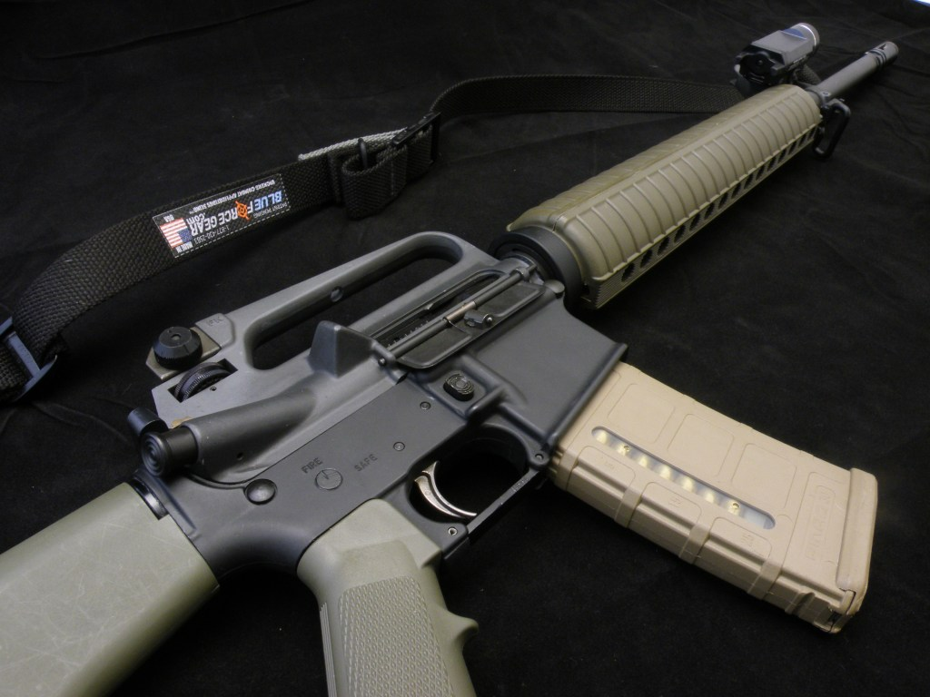 AR15 with Magpul PMAG