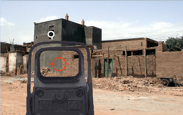 Eotech-Reticule red dot sight