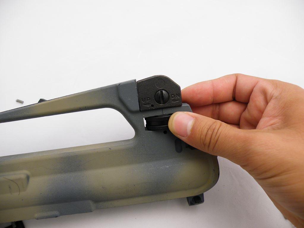 AR15 Rear Sight Installation (12)