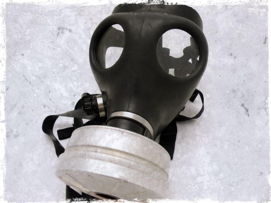 ebola gas mask