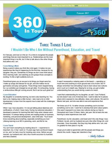 Custom Newsletter Examples The Newsletter Pro