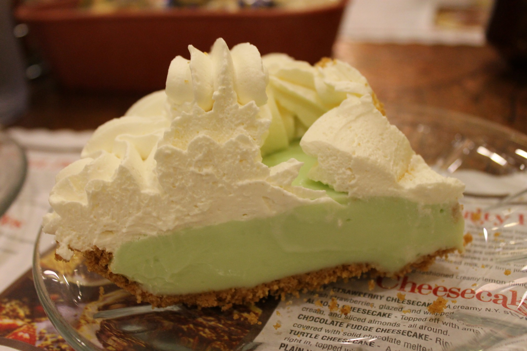 September 2 2016 House Of Pies Keylime Pie
