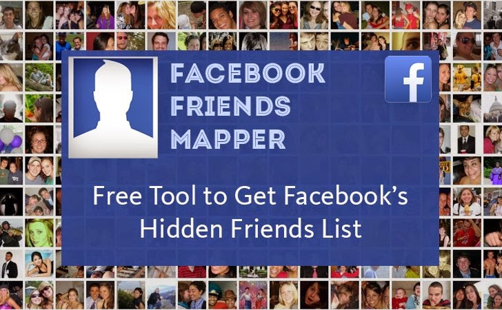 See someone's hidden friends on Facebook | Facebook Friends Mapper