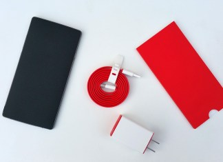OnePlus 3 retail packaging design shows up with the company's red theme