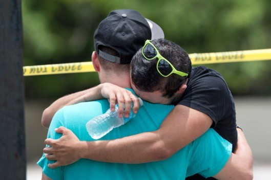 Orlando - Worst Mass Shooting in Night Club - Black Day in US History -people crying