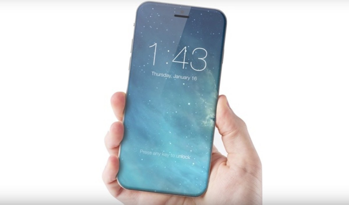Apple unveiled iPhone 8: All Glass Enclosure