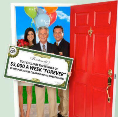 ... of Publishers Clearing House. The opinions and text are all mine