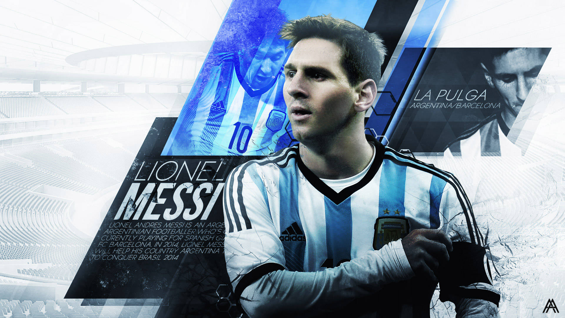 Football Wallpapers Hd Lionel Messi Hd Wallpapers The Nology