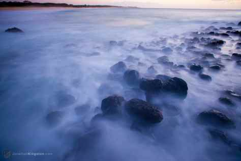 Black Lava Rocks, Molokai