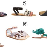 Six Spring Sandals