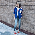 70's Style Inspiration: Track jacket and David Bowie tee