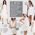 LITTLE WHITE DRESSES (UNDER $100)