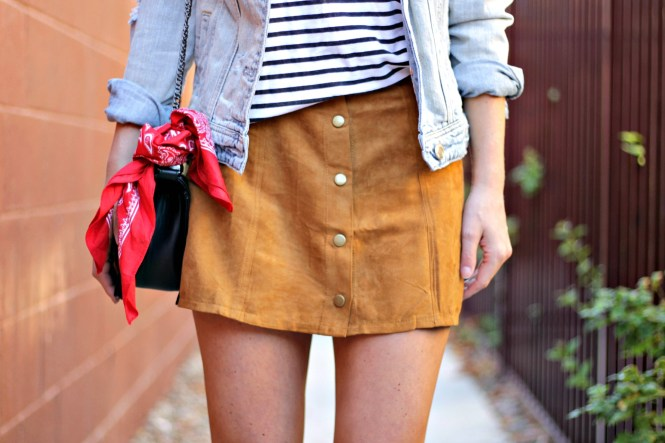 suede-skirt-denim-jacket-studded-sandals-striped-tee-outfit-ootd-lindsey-simon-las-vegas-fashion-blogger-8