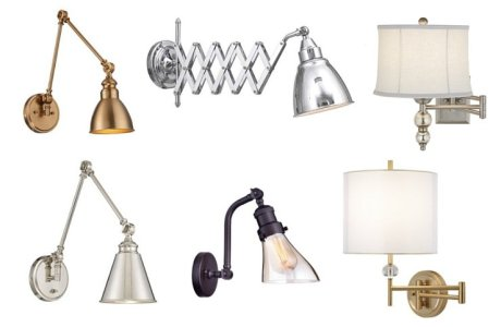 Affordable Swing-Arm Sconces and Where to Use Them