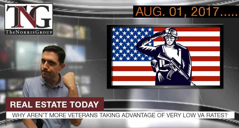 Why Aren\u0027t More Veterans Taking Advantage of Very Low VA Rates?