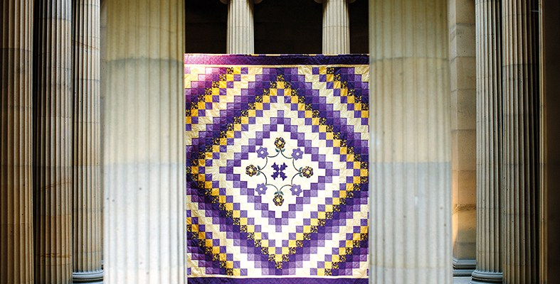 Belsay Quilts - credit English Heritage