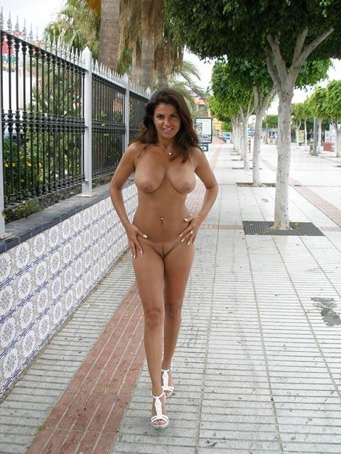 topless flashing in public