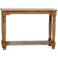 """Country Trend Solid Oak Sofa Table - 39"""" - The Oak ..."""