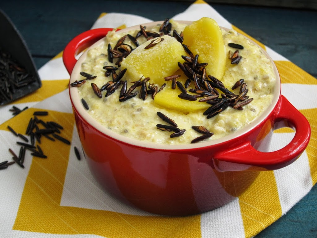 Mango-Coconut Overnight Oatmeal with Puffed Wild Rice | The Oatmeal ...