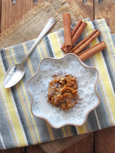 pumpkin spice latte oatmeal (6)