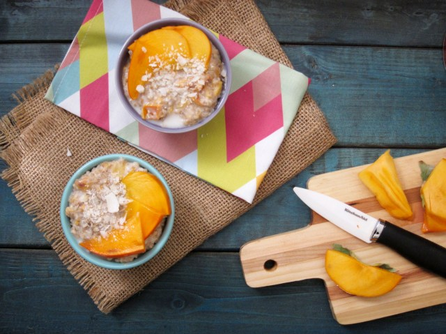 Coconut Persimmon Oatmeal (1)