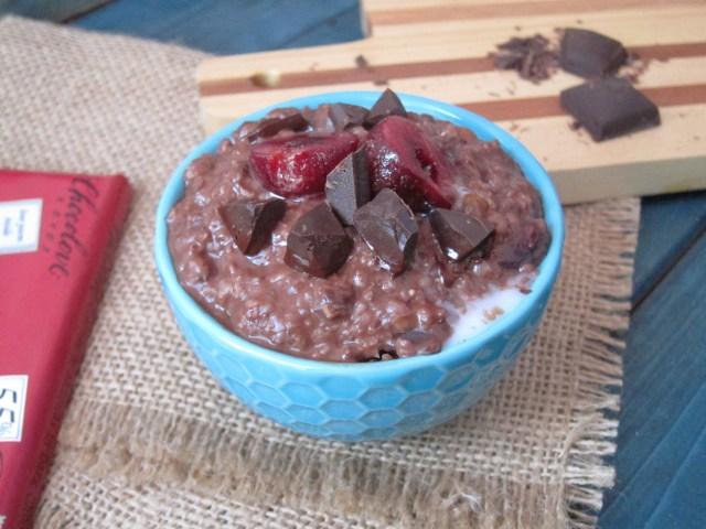 Chocolate Chili Cherry Oatmeal