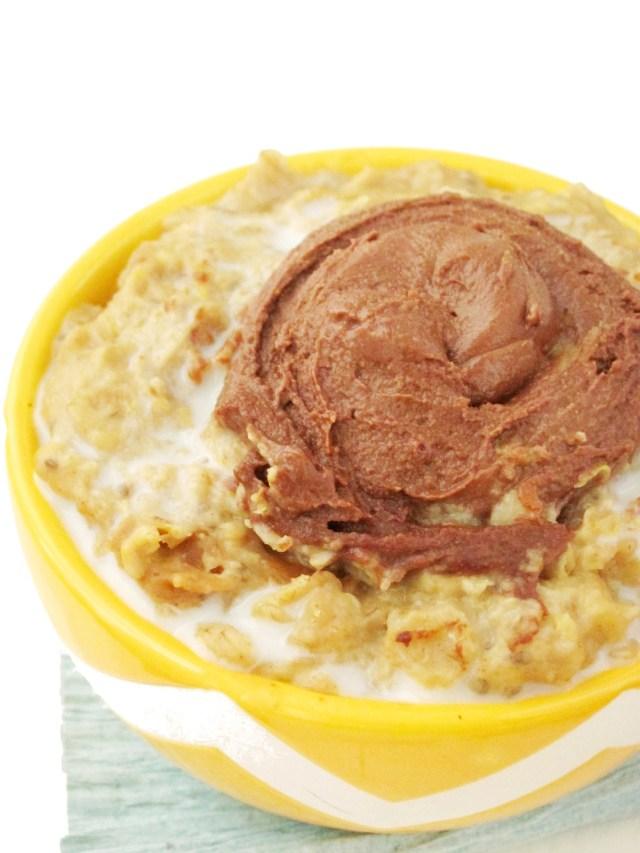 Scotcheroo Oatmeal by the #OatmealArtist