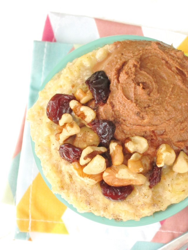 Cardamom Vanilla Zuchinni Oatmeal by the #oatmealartist