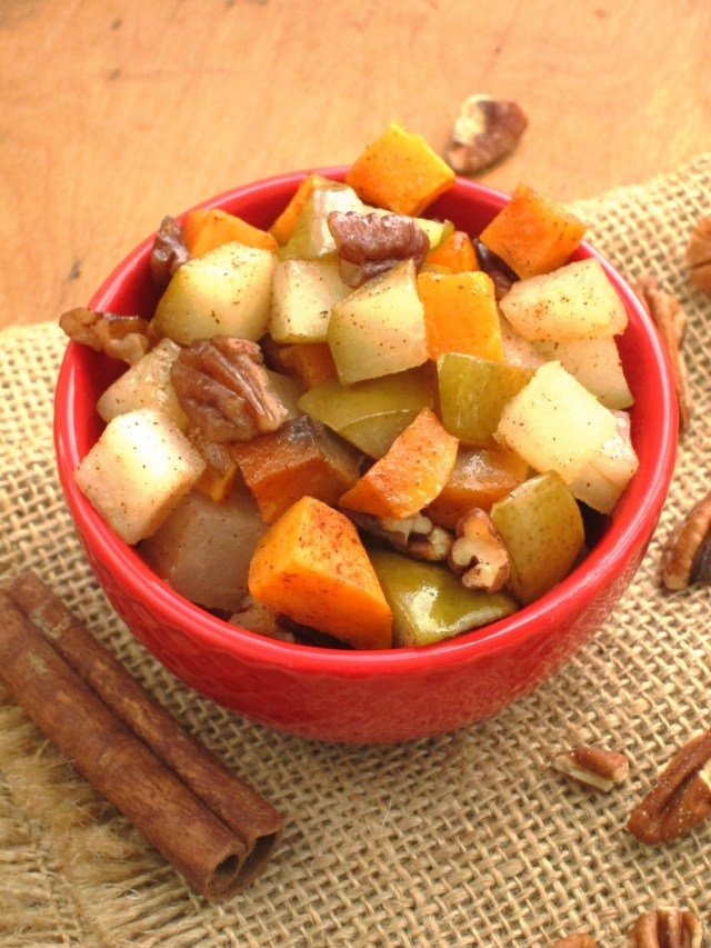 Cinnnamon Raisin Oatmeal - Tzimmes topping from Veganomicon Cookbook